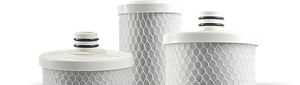 water contaminant treatment filters