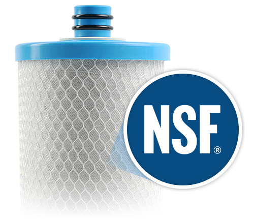 NSF certified water filters