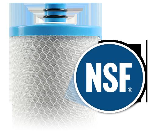NSF certified water filters