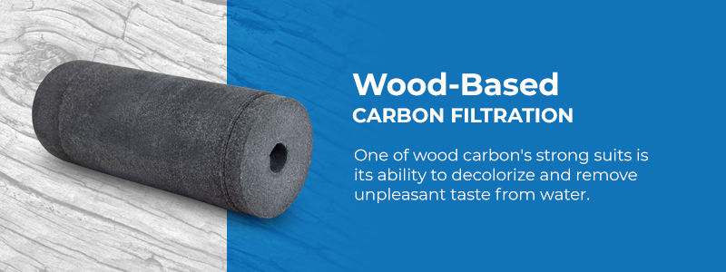 Wood-based activated carbon